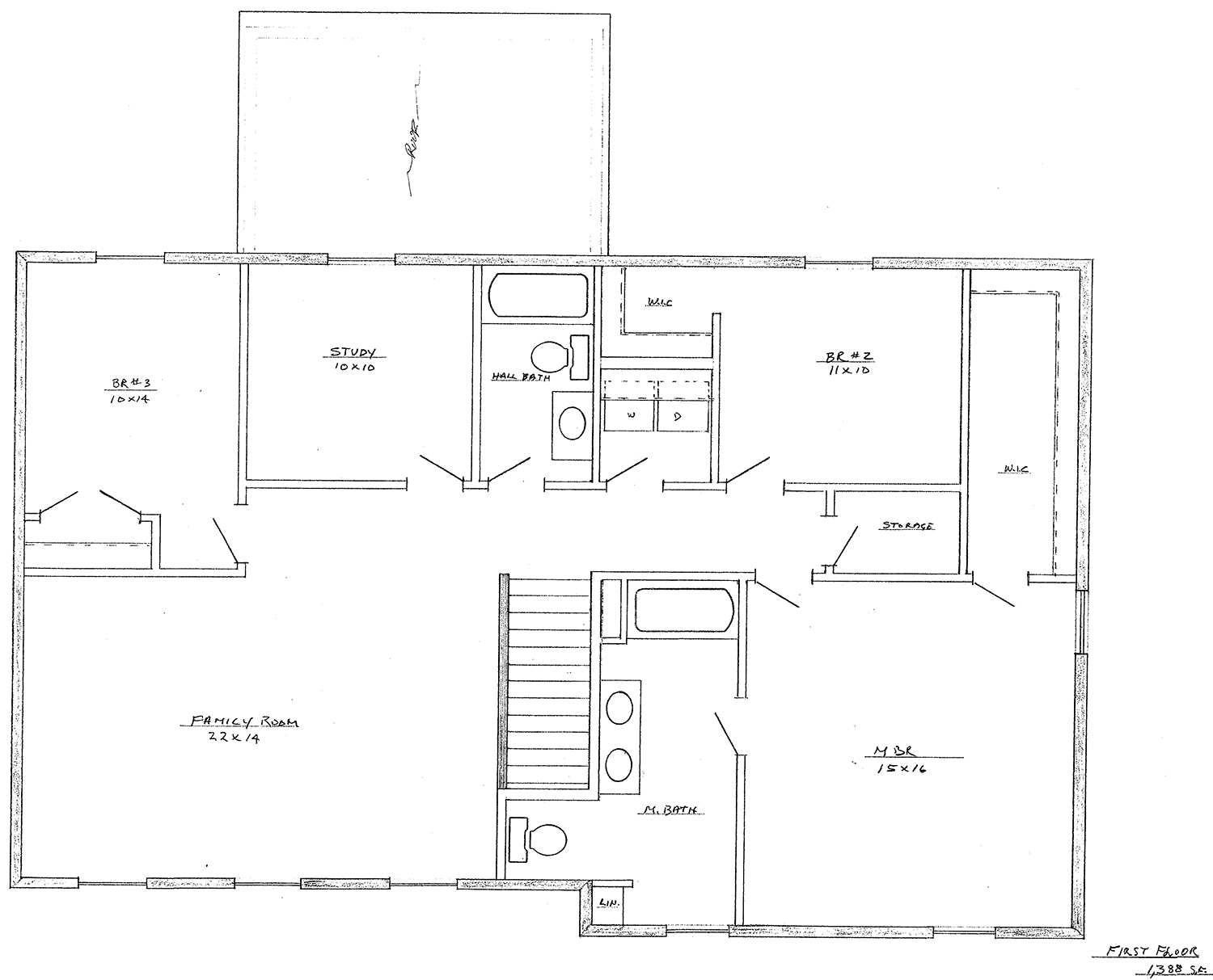 Alderwood Modified B 3 Bedroom 2 1 2 Bath 2348 Sf